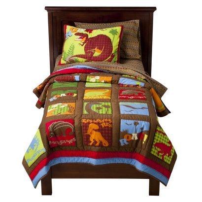 Dinosaur Kids Bedding 6195 front