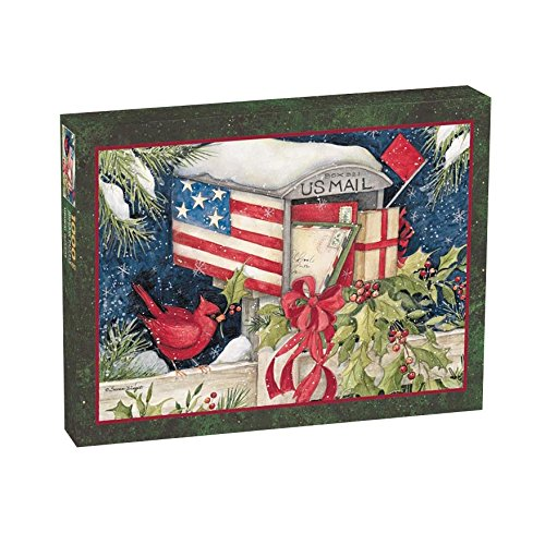 Lang Holiday Mailbox by Susan Winget Puzzle (1000-Piece)