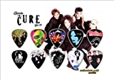 Cure (the) Premium Celluloid Guitar Picks Display Classic Edition
