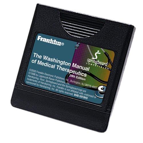 Franklin Washington Manual Of Medical Therapeutics Springboard Module