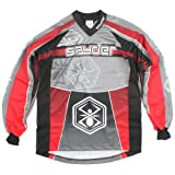 Spyder 07 Men's Paintball Jersey - Red