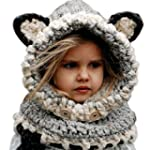 Malloom� hiver en laine tricot�s chap...