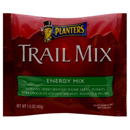 Buy Planters Trail Mix, Energy Mix, 1.5-Ounce Pouches (Pack of 30) (Planters, Health & Personal Care, Products, Food & Snacks, Snacks Cookies & Candy, Snack Food, Trail Mix)