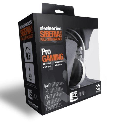 SteelSeries Siberia v2 Full-size Headset (white) 51100の写真05。おしゃれなヘッドホンをおすすめ-HEADMAN(ヘッドマン)-