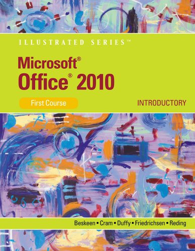 bundle  microsoft office 2010  illustrated introductory