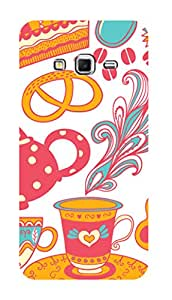 SWAG my CASE PRINTED BACK COVER FOR SAMSUNG GALAXY GRAND 2 Multicolor