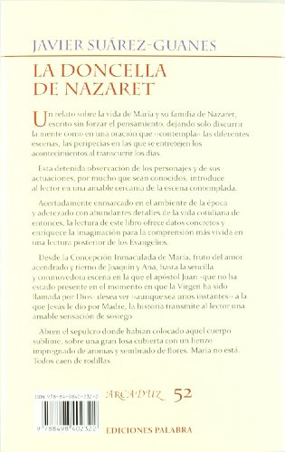 La doncella de Nazaret / The maiden of Nazareth: Historia de la virgen Maria / History of the Virgin Mary (Spanish Edition)