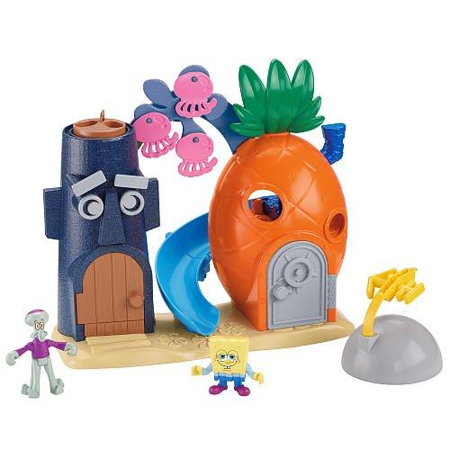 FisherPrice SpongeBob SquarePants Pineapple Playset