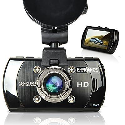 E-PRANCE New Arrival B47FS Super HD 1296P Car DVR Dashboard Camera Recorder with Ambarella A7LA70 + 170 Degree Ultra Wide Angle + OV4698 CMOS Sensor + LED Night Vision + GPS Loggoer(Optional)