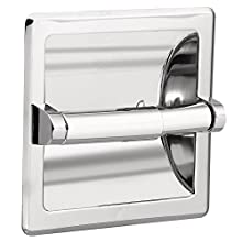 Moen 2575 Contemporary Recessed Toilet Paper Holder, Chrome