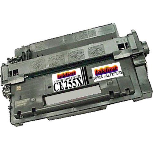 Toner Cartridge CE255X (55X) Compatible Remanufactured for HP CE255X Black