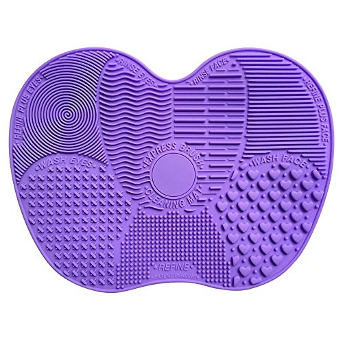 funoc-apple-shaped-makeup-washing-brush-mat-silicone-cosmetic-cleaner-scrubber-tool