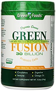 Green Foods Green Fusion Nutritional Supplement, 10.4 Ounce