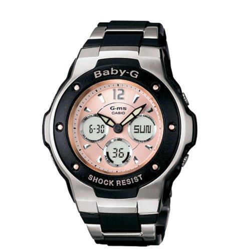 Casio MSG300C-1B - Reloj para mujeres, correa de resina