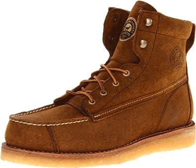 "Irish Setter Men's Bar Boot 7"" Casual Boot,Brown,8 D US"