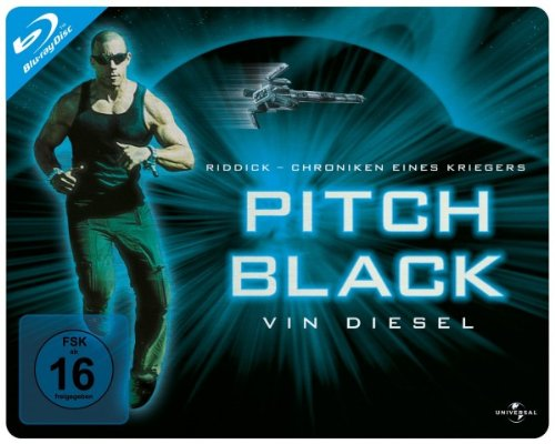 Pitch Black-Quer Steelbook [Blu-ray] [Import allemand]
