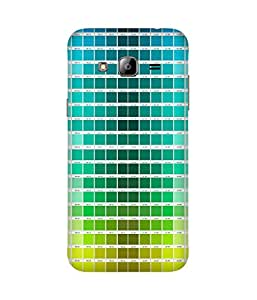 Colour Chips Printed Back Cover Case For Samsung Galaxy J2