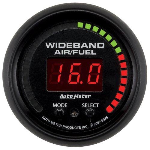"Auto Meter 5978 Es 2-1/16"" Digital Wideband Air/Fuel Ratio Pro Gauge"