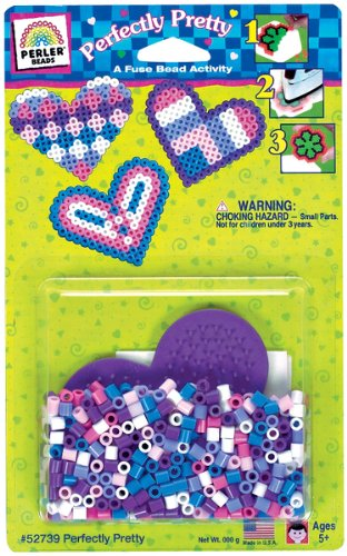 Perler Beads Fuse Bead Kit-Perfectly Pretty
