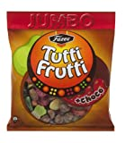 Fazer Tutti Frutti + choco Wine Gums Chocolate & Fruit Candy Candies Sweets Jumbo Party Bag 325g