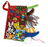 Jellycat® Soft Books, Pet Tails Color: Pet Tails