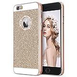 iPhone 6s ケース,Imikoko iPhone 6 ケース iPhone 6sきらきら ケース パンバー iPhone 6きらきら ケース iPhone 6s 薄型ケース bling-bling アイホン 6 6s カバー SHINEケース おしゃれ 4.7インチ (Gold)