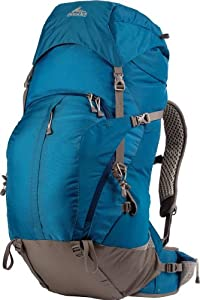Gregory Mountain Products Z 65 Backpack, Azul Blue, Medium