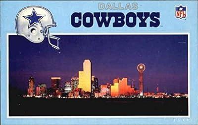 Dallas And The Dallas Cowboys Dallas, Texas Original Vintage Postcard