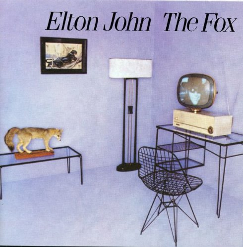 Original album cover of THE FOX by Elton John