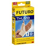 Futuro Thumb Stabilizer, Deluxe, Moderate Stabilizing Support, Small - Medium 1 stabilizer