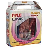 Pyle PLAM14 20 Feet 8 Gauge 1000 Watts Amplifier Hookup For Battery Head Unit and Speakers Installation Kit