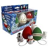 Christmas Ornament Grow Egg Hatchems Hang Em and Hatch Em X Mas Hatching Eggs Grow Three Differe