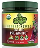 USDA Organic Pre-Workout Supplement ***Updated Formula*** - Natural Pre Workout Energy Drink - Berry Flavor - Certified Organic, Vegan, Paleo, Hormone Free, Gluten Free, Non-GMO Formula - Blend of Herbs & Superfoods Including Ginseng, Maca Root, Acia, Goji Berry, Yerba Mate, Green Tea, Beet Root & more! *Natural Caffeine & Low Sugar = No Crash, Just Clean Energy* - 25 Servings