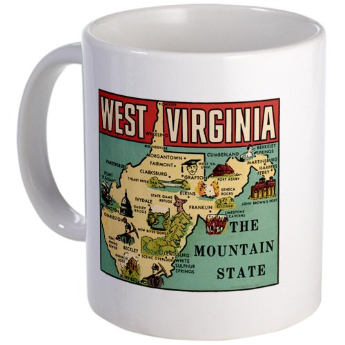 West Virginia Wv Coffee Mug Mug By Cafepress