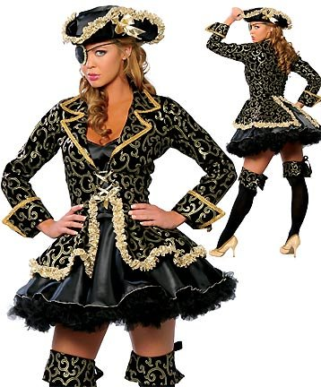 Deluxe Pirate - Women's Pirate Sexy Halloween Costumes