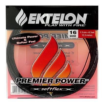 Ektelon-Premier-Power-16-Gauge-String,-Black