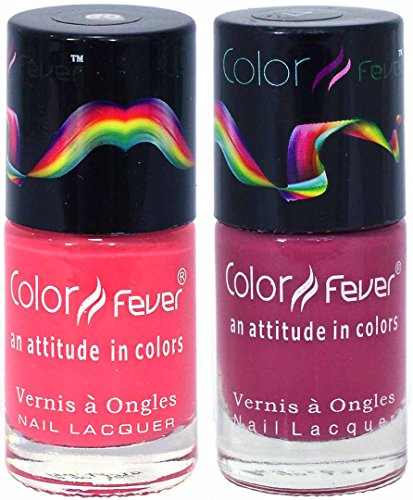 Color Fever Color Fever Nail Gloss Nail Polish Set , 0.60 Ounce