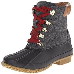 Joie Women\'s Delyth Snow Boot, Charcoal Felt, 37 EU/7 M US