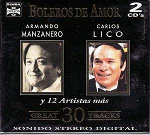 Boleros De Amor Y 12 Artistas Mas [100anosdemusica] 2 Cd's