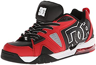 Dc Cortex Shoes - Red/black
