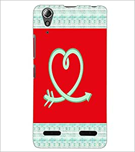 PrintDhaba Love D-5786 Back Case Cover for LENOVO A6000 PLUS (Multi-Coloured)