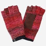 ジュンレッド(JUNRed) 手袋(グラデーション指ぬきグローブ)