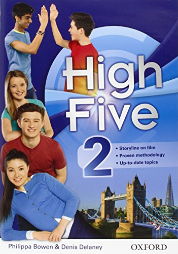 High five. Student's book-Workbook-Exam trainer. Con e-book. Con espansione online. Con CD Audio. Per la Scuola media: 2