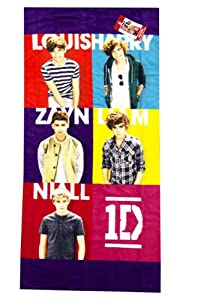 One Direction Squared Beach Towel from Jay Franco and Sons, Inc.