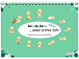 babylogbuch twins - unser erstes Jahr - inkl. Aufkleberset / Zwilling Baby-Tagebuch Baby-Kalender