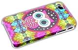 Apple iPhone 4 4S Hard Case NIGHT OWL Design bumper Cover thematys®