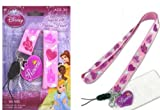 Disney Princess Lanyard Key Holder with Heart Shape Charm
