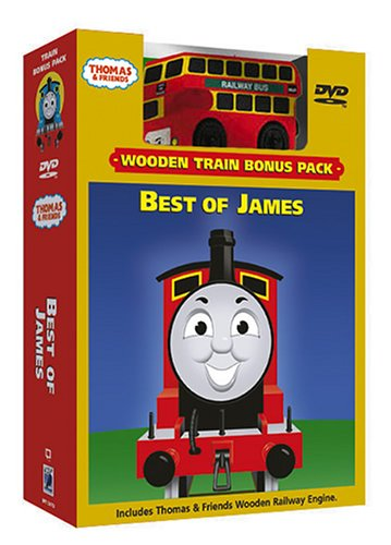 Thomas & Friends - Best Of James (W/Toy) front-333724