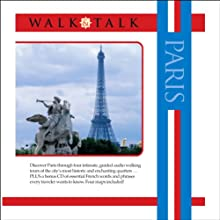 Walk and Talk Paris (       UNABRIDGED) by Sonia Landes, Alison Landes Narrated by Gates McFadden