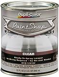 Dupli-Color (BSP300-2 PK) 'Paint Shop' Gloss Clear Finish System Top Coat - 1 Quart, (Case of 2)